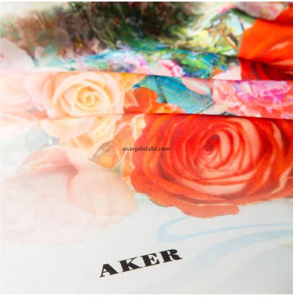 Aker Eşarp 7287-312 sura ipek